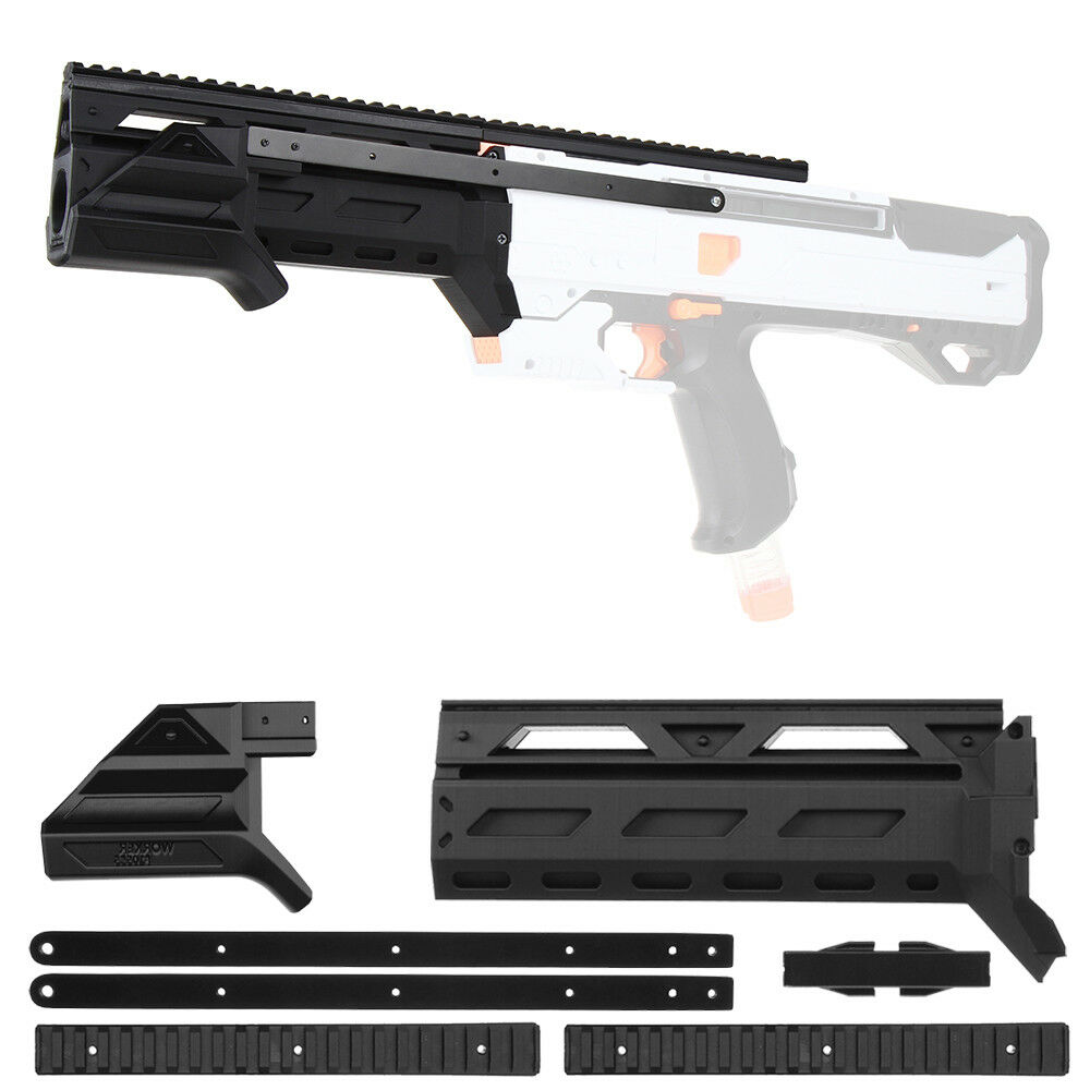 Worker MOD F10555 Pump Kit Prime Grip 3D Print for Nerf Riva