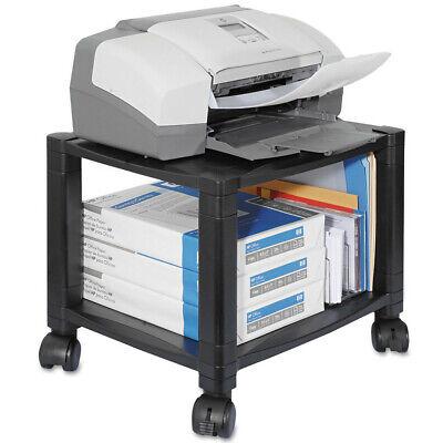 Kantek Mobile Printer Stand Two-shelf 17w X 13-14d X 14-18h Black Ps510 New