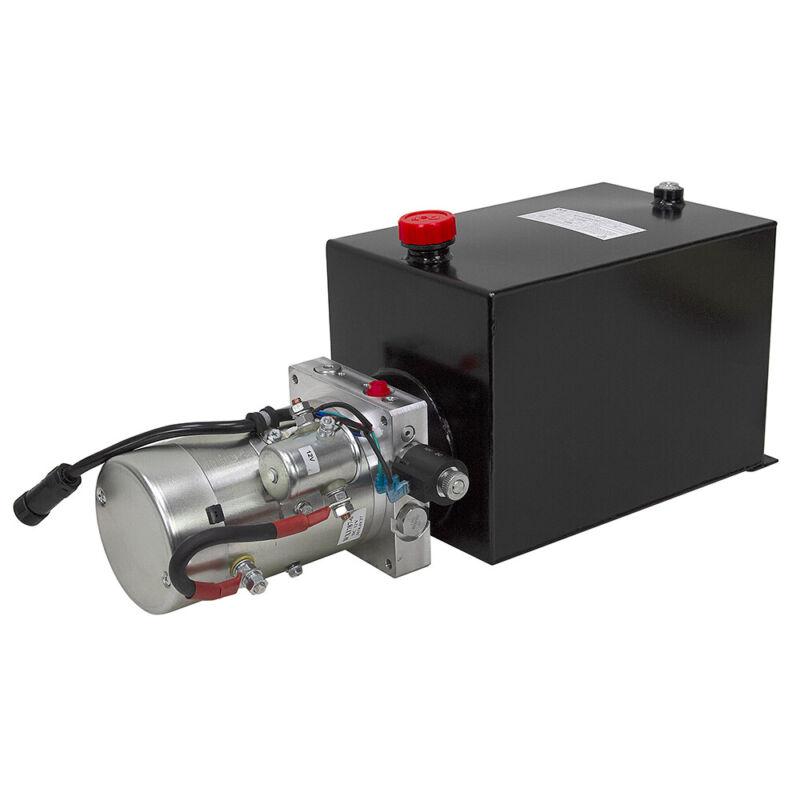 12 Volt DC 1.4 GPM 3000 PSI Single Acting Hyd Power Unit Bucher Wuxi 9-12367-32