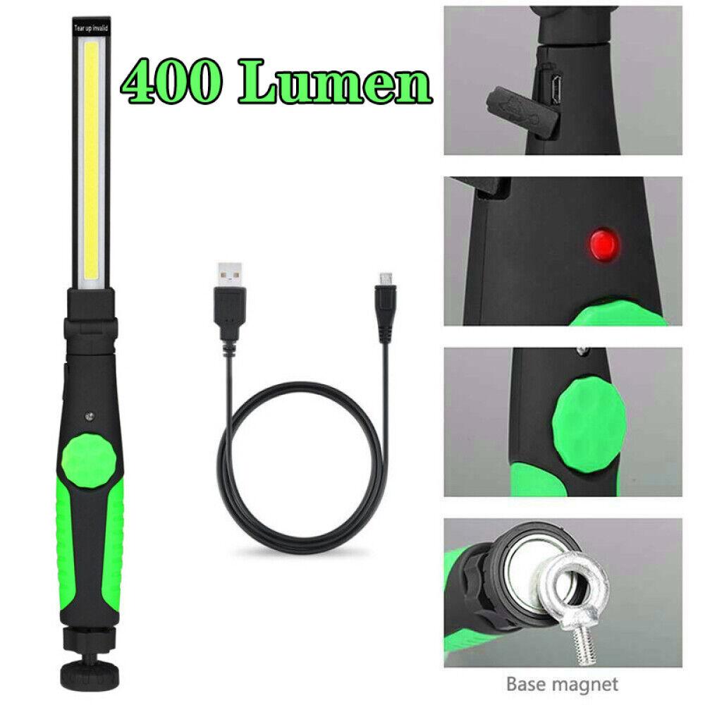 COB LED KFZ Arbeitsleuchte Kabel Werkstattlampe Handlampe Stablampe Mit Magnet