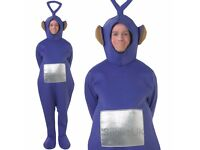 Licensed Adult Teletubbies Dipsy Fancy Dress Costume TV Cartoon Stag Do