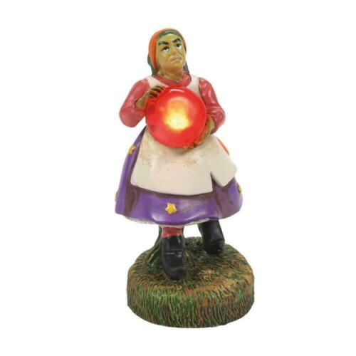 Dept 56 A CRYPTIC CAVE MYSTIC Halloween Village 6007648 New 2021 Crystals Witch