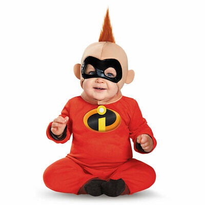 Infant Baby Jack Jack Incredibles Superhero Costume - Infant Incredibles Costume