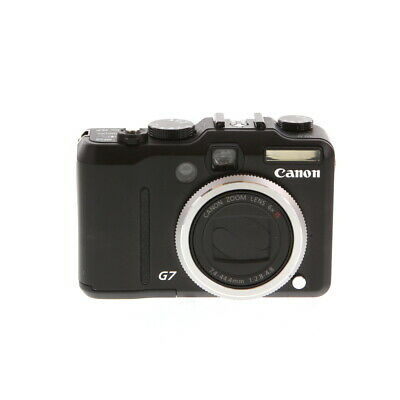 Canon Powershot G7 Digital Camera Point and shoot {10 M/P} BGN