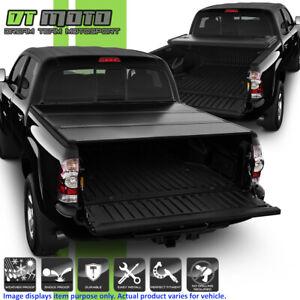 30fac094ccf Hard Tri-Fold Tonneau Cover For 2005-2015 Toyota Tacoma Double Cab 5FT (