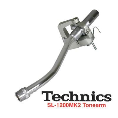 TECHNICS SL 1200  MK2 / M3D / MK5 SILVER TONE ARM TONEARM OEM PART # P-AM18201K