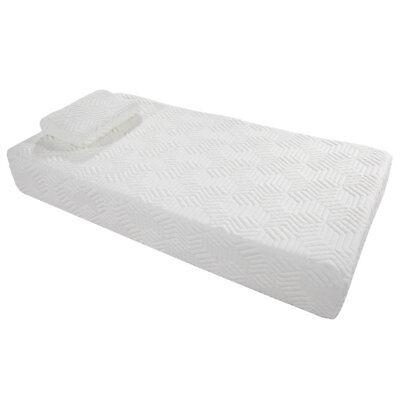 10  Inch Twin Size Cool Medium Firm Memory Foam Mattress 2 Free Pillows   Cover