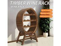 Wine Rack 13 Bottles Solid Acacia Wood-44036