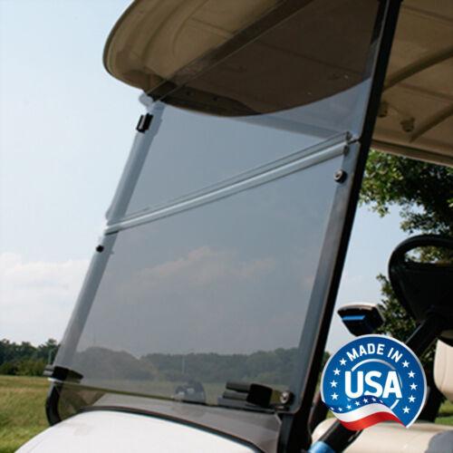 """Yamaha G29 / Drive Fold Down Bolt-Style Golf Cart Tinted Windshield - 5/32"""""""