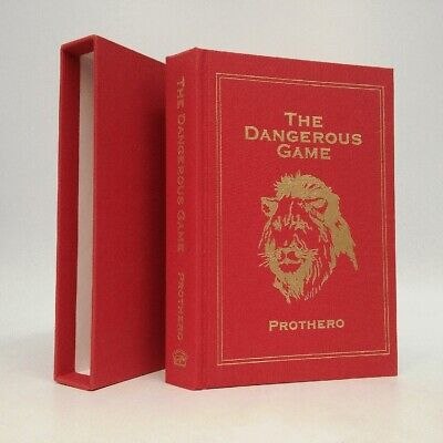 The Dangerous Game SIGNED Walt Prothero~Safari Press~Big Game Hunting Series Safari Dangerous Series