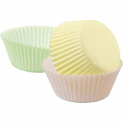 Wilton Cupcake Liners, Assorted Pastel Colours, 2 in, 75 Pcs, Muffin Decoration