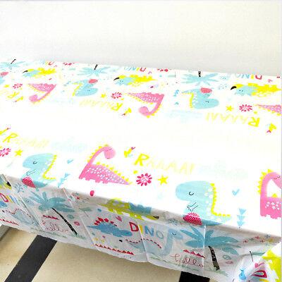 Dinosaur Themed Birthday Party (1pcs Dinosaur Theme Birthday Party Decoration Disposable Table Cloth)