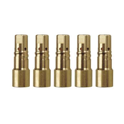 5-pk 229670 Gas Diffuser For Miller Xr-aluma Pro Welding Gun
