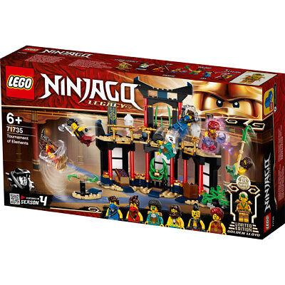 Lego Ninjago Tournament of Elements Building Set - 71735
