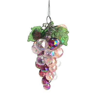 Iridescent Beaded Grape Cluster Christmas Tree Ornament, 3-1/2-Inch, -
