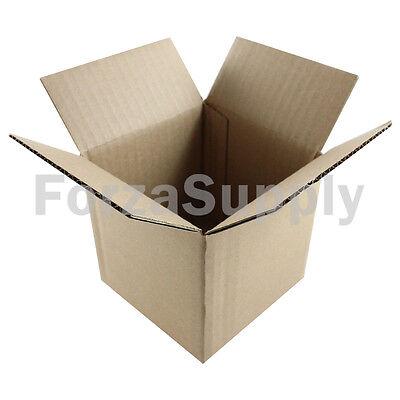 10 4x4x4 Ecoswift Brand Cardboard Box Packing Mailing Shipping Corrugated