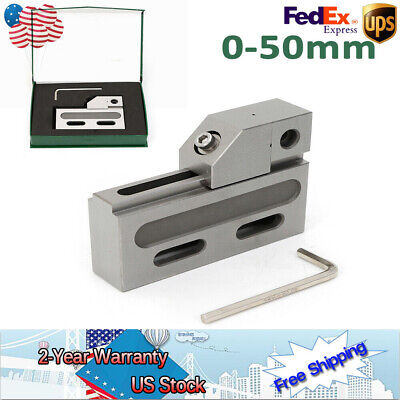 Wire Edm Precision Vise Steel Jaw Opening Clamp Fast Work Piece Alignment Top