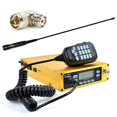 Dual Band 25W UHF VHF Ham Radio Transceiver With 12000 mAh Battery Dual PTT