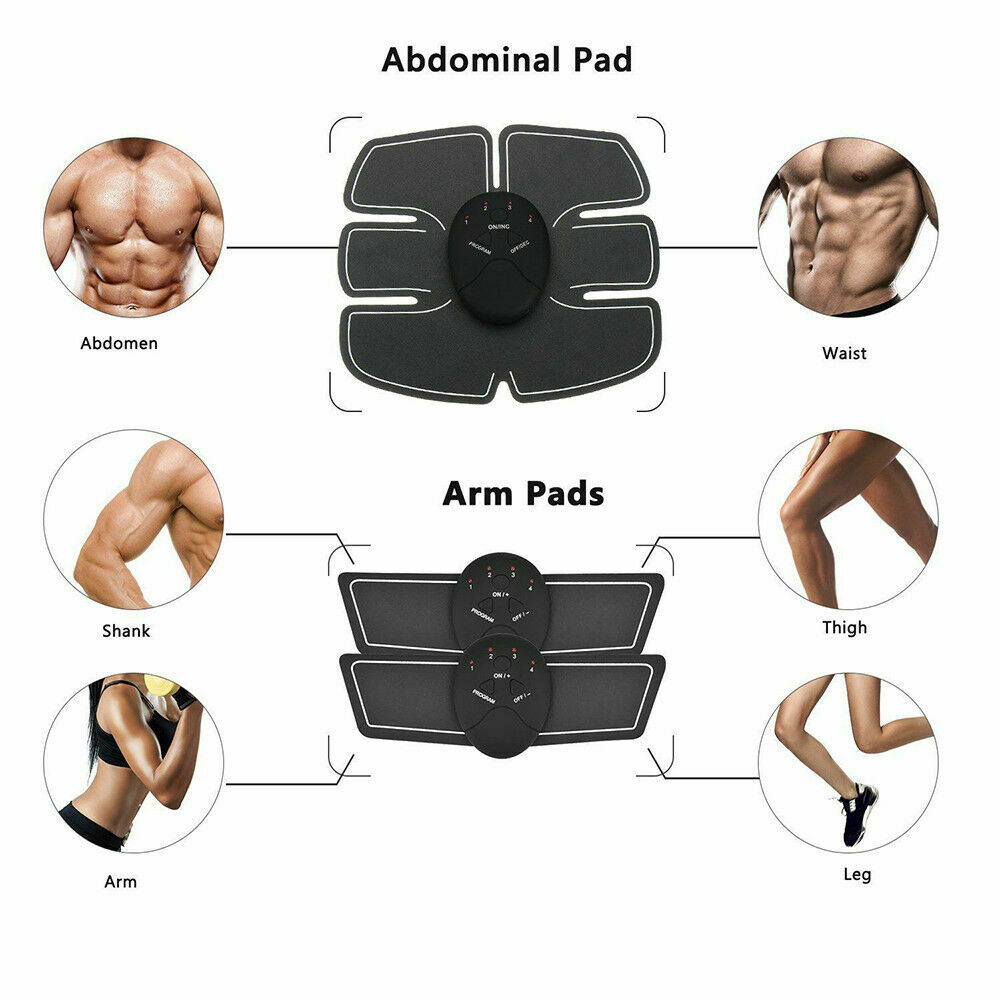 EMS Hip Trainer Electric Muscle Stimulator Wireless Buttocks Abdominal ABS Home