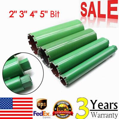 2 3 4 5 Set Wet Diamond Core Drill Bit Concrete Brick Core Drill Bits