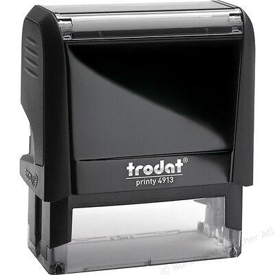 Trodat 4913 Ideal 100 Self Inking Rubber Stamp Custom Return Address Design Us