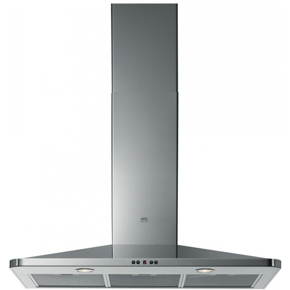 NEW - AEG DK4490-M Slimline 90cm Chimney Cooker Hood Stainless Steel -BARGAIN PRICE £120 ONLY!