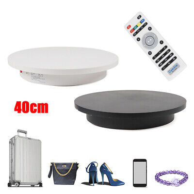 40cm Turntable 360 Display Stand Electric Two-way Rotating Jewelry Displayrc