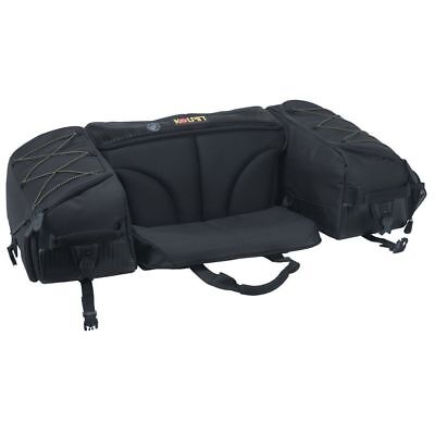 Atv Rack Bag - Kolpin ATV Matrix Rear Rack Storage Bag Seat Padded Back Rest 91155