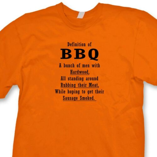 Bbq Rules For Men Funny Novelty T-Shirt Mens tee TShirt
