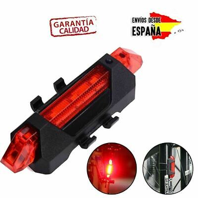 LUZ XIAOMI M365/PRO/PATINETE ELECTRICO/BICICLETA LED RECARGABLE USB IMPERMEABLE