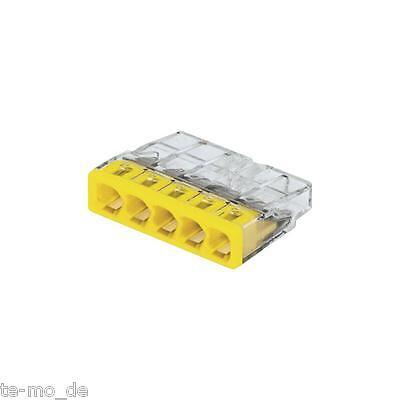 300 Stück Wagoklemmen Neu 5x0,5-2,5 mm² Nr. 2273-205