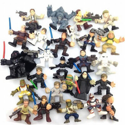Used, Random 5Pcs Star Wars playskool Galactic Heroes 2.5''  Figure Hasbro toy for sale  Shipping to Canada