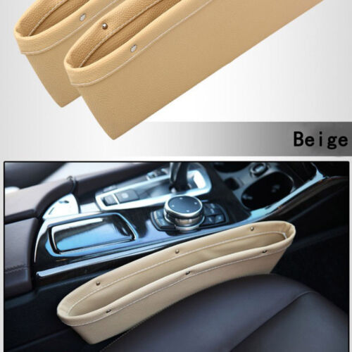 Car Seat Gap Slit Filler Pocket Catch Catcher Box Storage