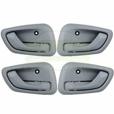 Fit CHEVROLET TRACKER 1999-2004 Assembly Inner Gray Door Handle