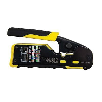 Klein Tools 6 In. Pass Thru Modular Crimper Vdv226-110 New