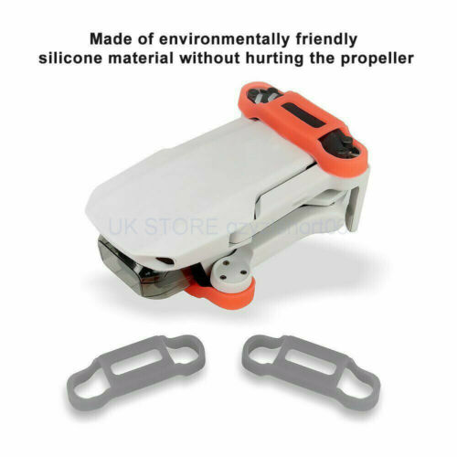 2x For DJI Mavic Mini Drone Accessories Silicone Propeller Fixing Holder