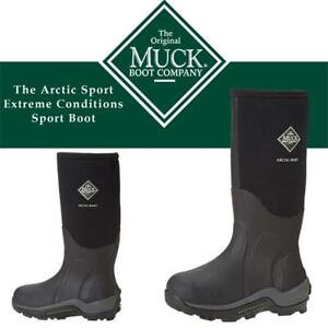 NEW Muck Boot Company The Arctic Sport Extreme-Conditions Sport Boot Condtion: New