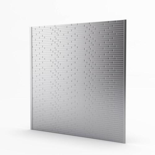 Inoxia SpeedTiles Linox Stainless Metal Self-Adhesive Range Backsplash Mosaic