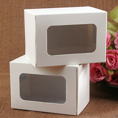 Kraft Gift Retail Packaging Boxes Lightweight Paper Party Favor Gift Box Pack