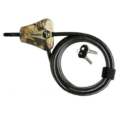 - Master Lock 8418KADCAM-TMB Python 6' Camo Adjustable Cable Lock