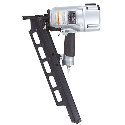 "Hitachi 3-1/4"" Plastic Collated Framing Nailer w/ DEPTH ADJUSTMENT NR83A3 New"