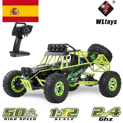 WLtoys 12428 1/12 2.4G 4WD Rastreador eléctrico cepillado RTR RC coche Car...