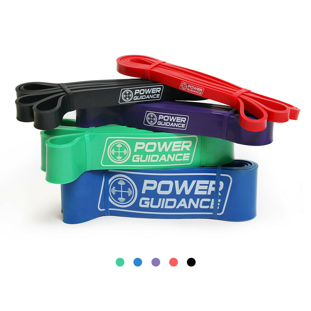 Fitness POWER GUIDANCE Pull Up Exercise Bands For Resistance Body Stretching