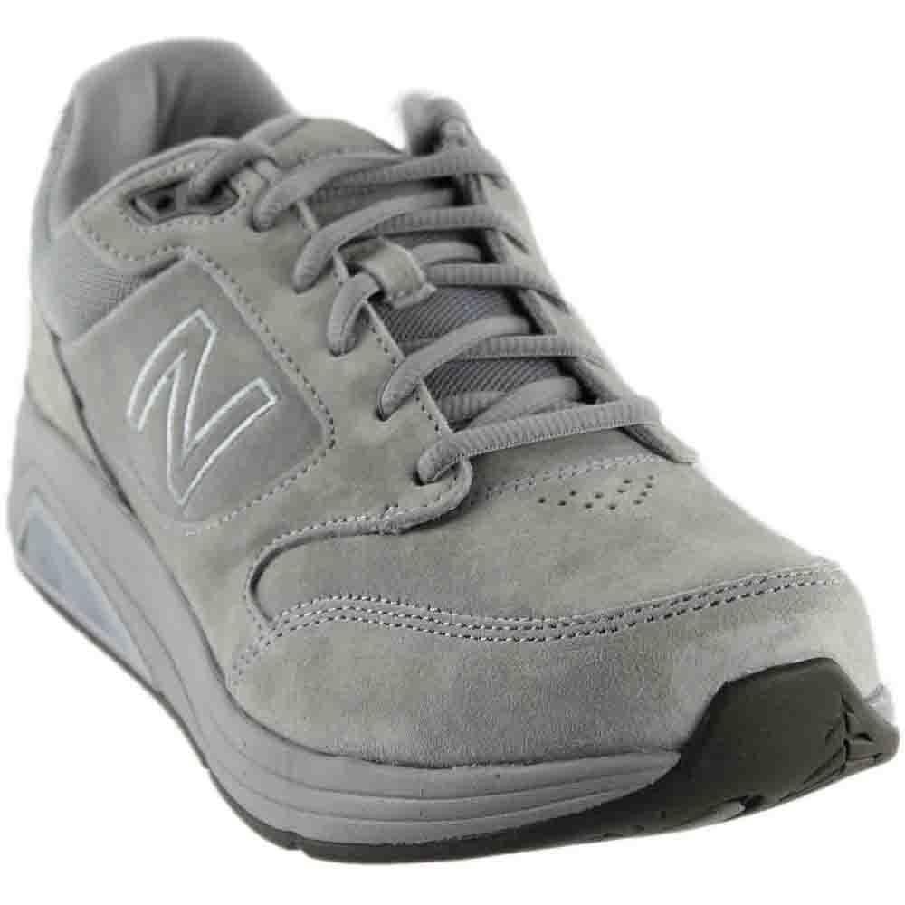 Detalles de New Balance 928v3 Caminar Atletismo Carrera Gris Zapato de ante Hombre MW928GY3