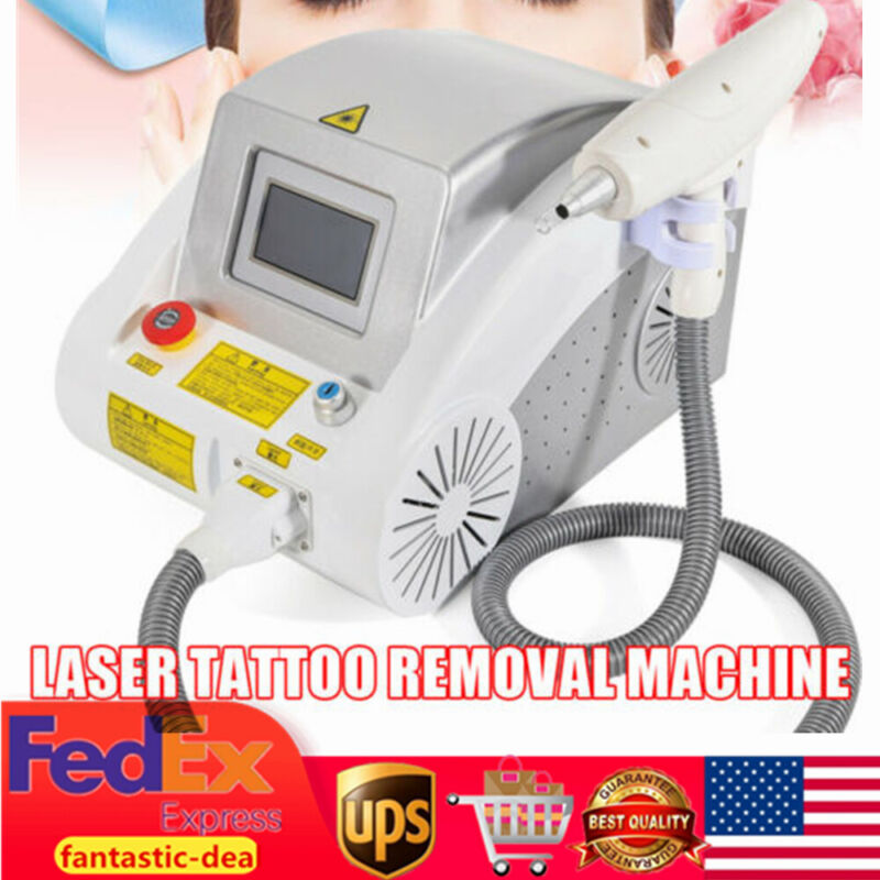 Multifunction Laser Tattoo Remover Eyebrow Pigment Removal Beauty Machine 1000W