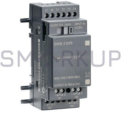 New In Box Siemens 6ed1055-1fb00-0ba1 Logo 8 Expansion Module