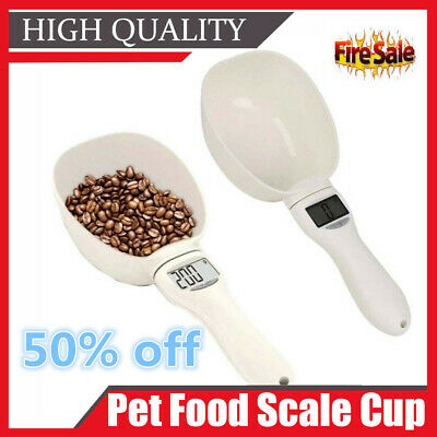 Measuring Spoon Cup of Pet Food Water Scoop Kitchen Scale Spoon Portable J7D1