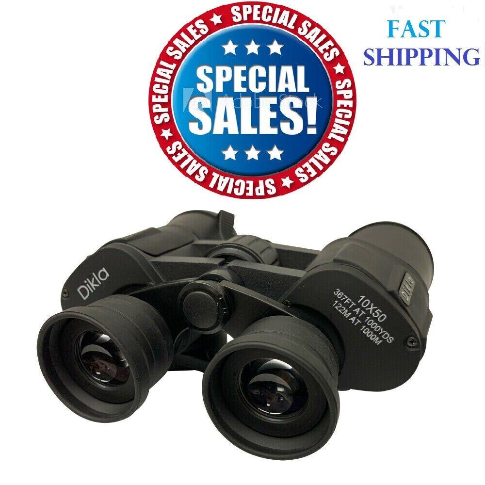 10×50 Powerful Full-Size Zoom Binoculars Optics Hunting Camping 367FT AT 1000YDS Binoculars & Monoculars