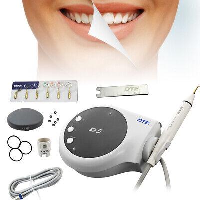 Woodpecker Dental Ultrasonic Piezo Scaler Dte D5teeth Cleaner Handpiece6 Tips