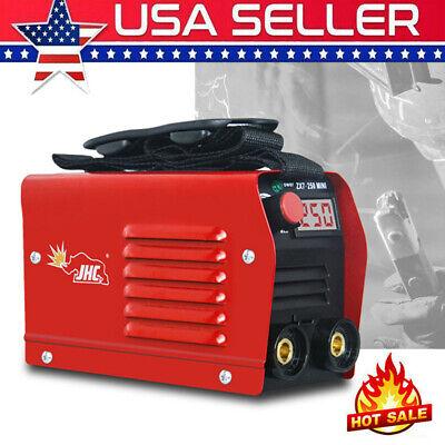 110v Mini Electric Welding Machine Igbt Dc Inverter Arc Mma Stick Welder 20-250a
